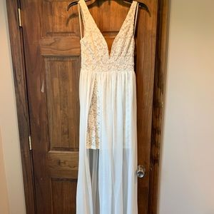 White dress from LuLus